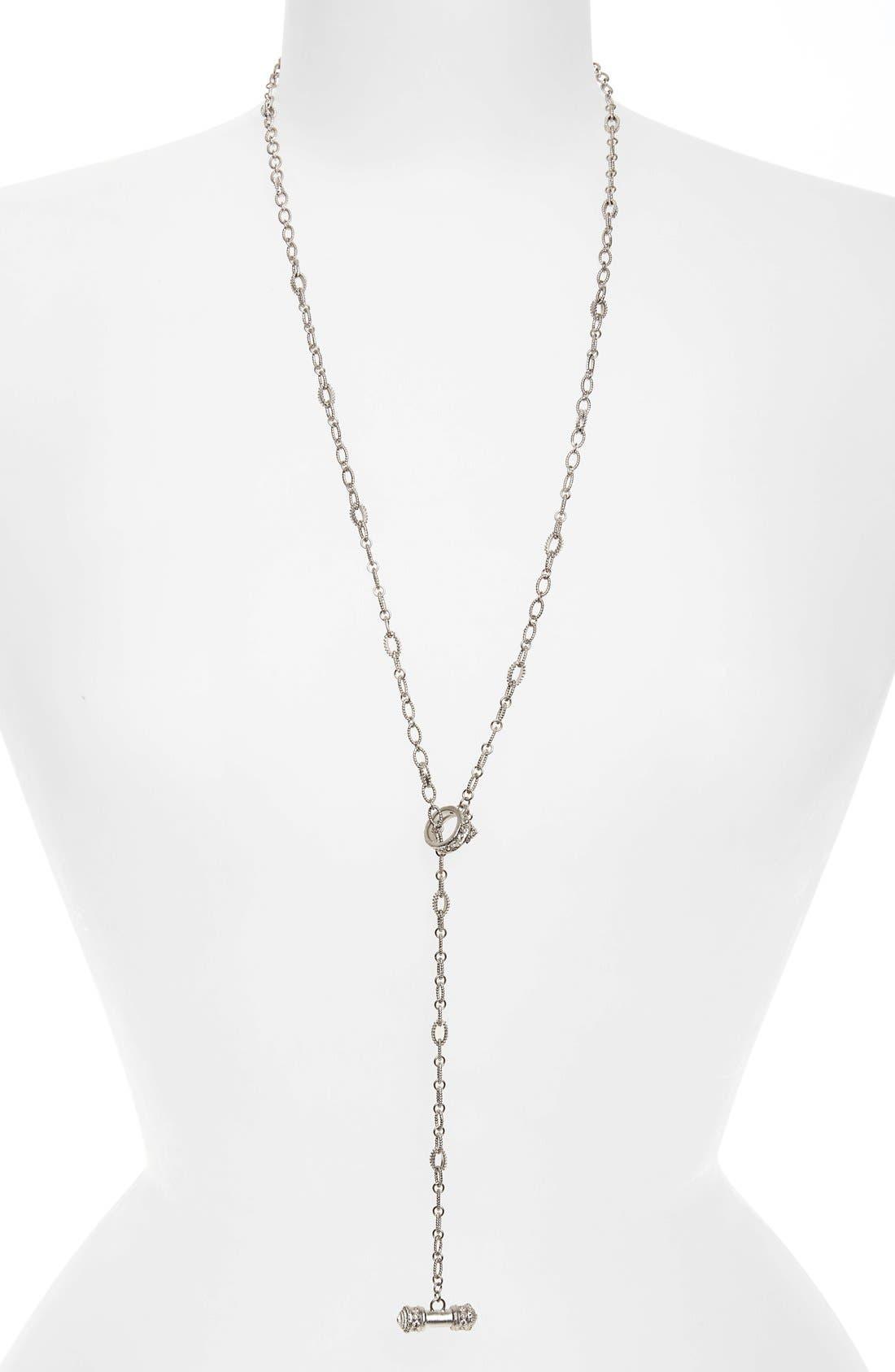 Armenta New World Triple-Strand Crivelli Necklace with Diamonds 1vBGdkP6