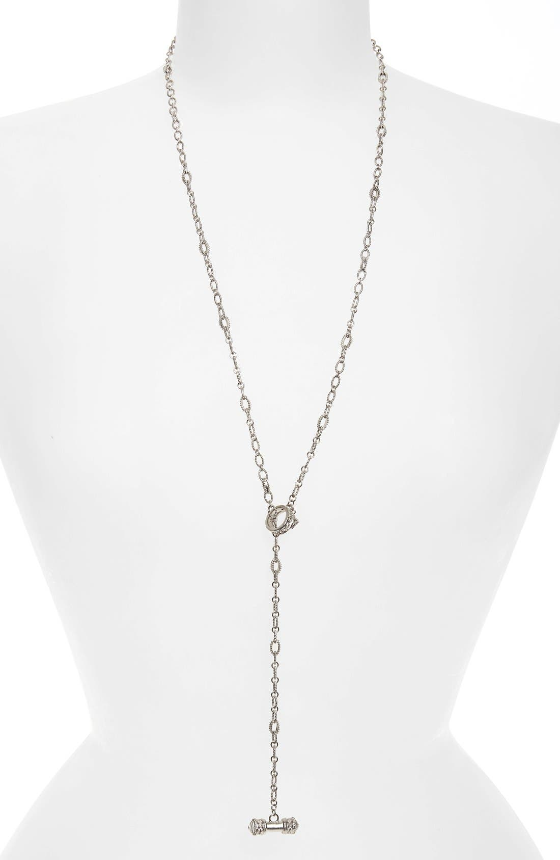 Armenta New World Diamond Lariat Necklace