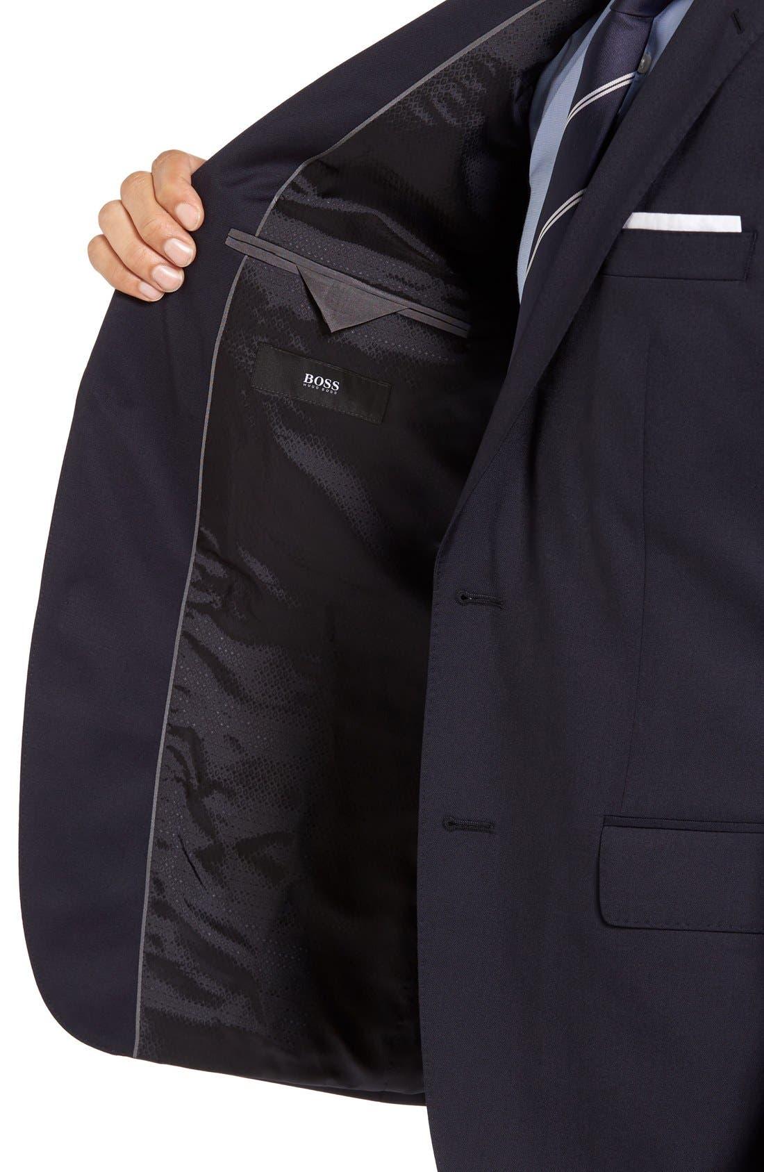 Alternate Image 3  - BOSS Johnstons/Lenon Classic Fit Wool Suit