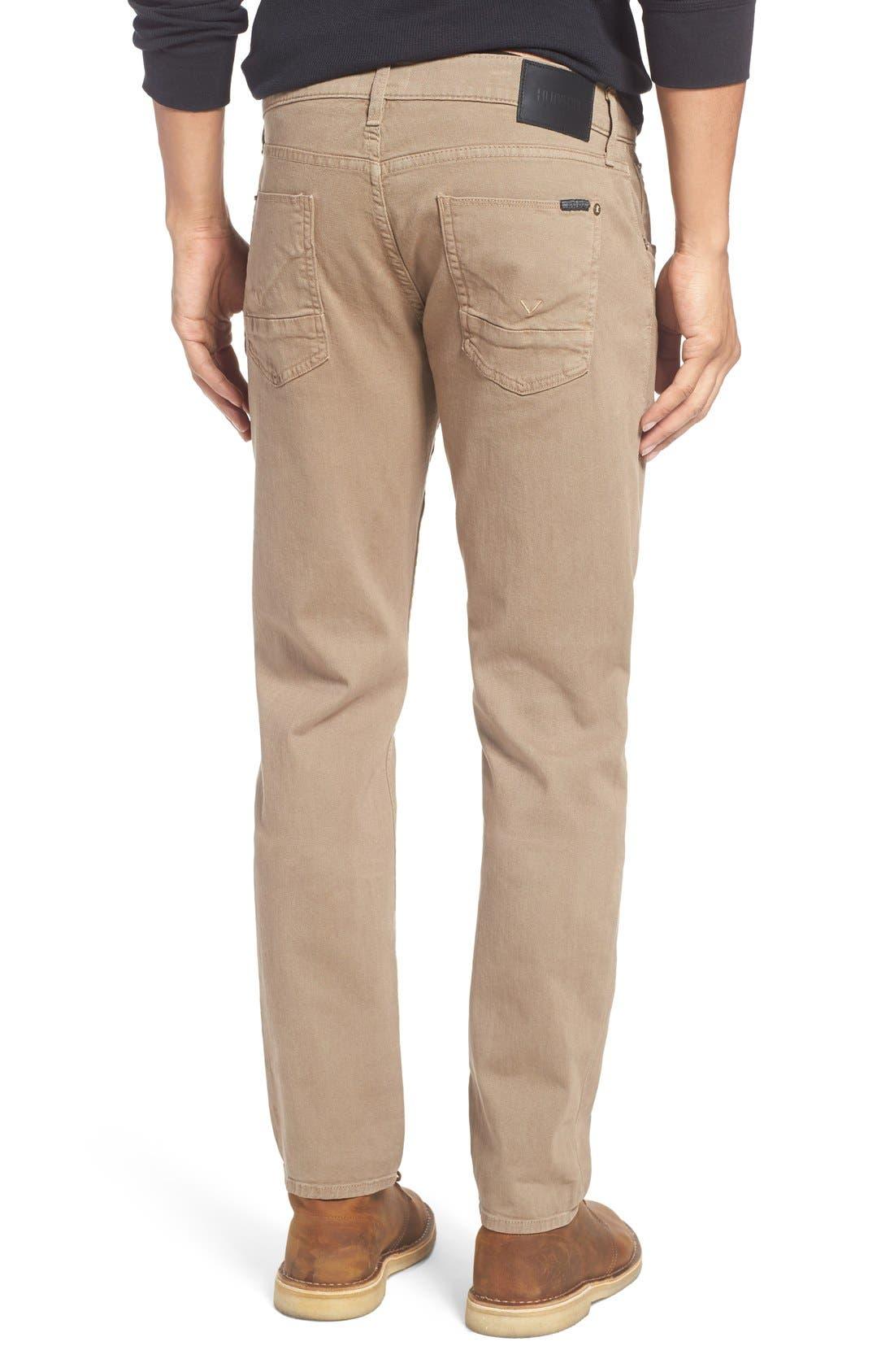 Alternate Image 2  - Hudson Jeans Blake Slim Fit Jeans (Quicksand Khaki)