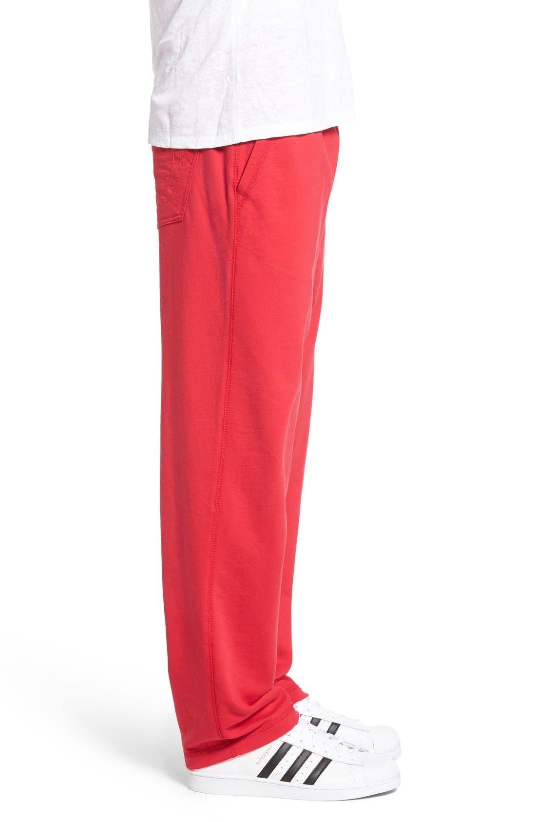 Alternate Image 3  - True Religion Brand Jeans Open Leg Sweatpants