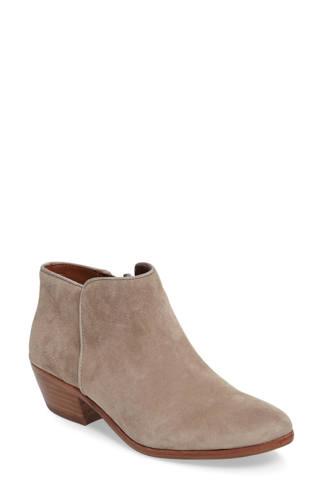 'Petty' Chelsea Boot,                         Main,                         color, Putty Suede