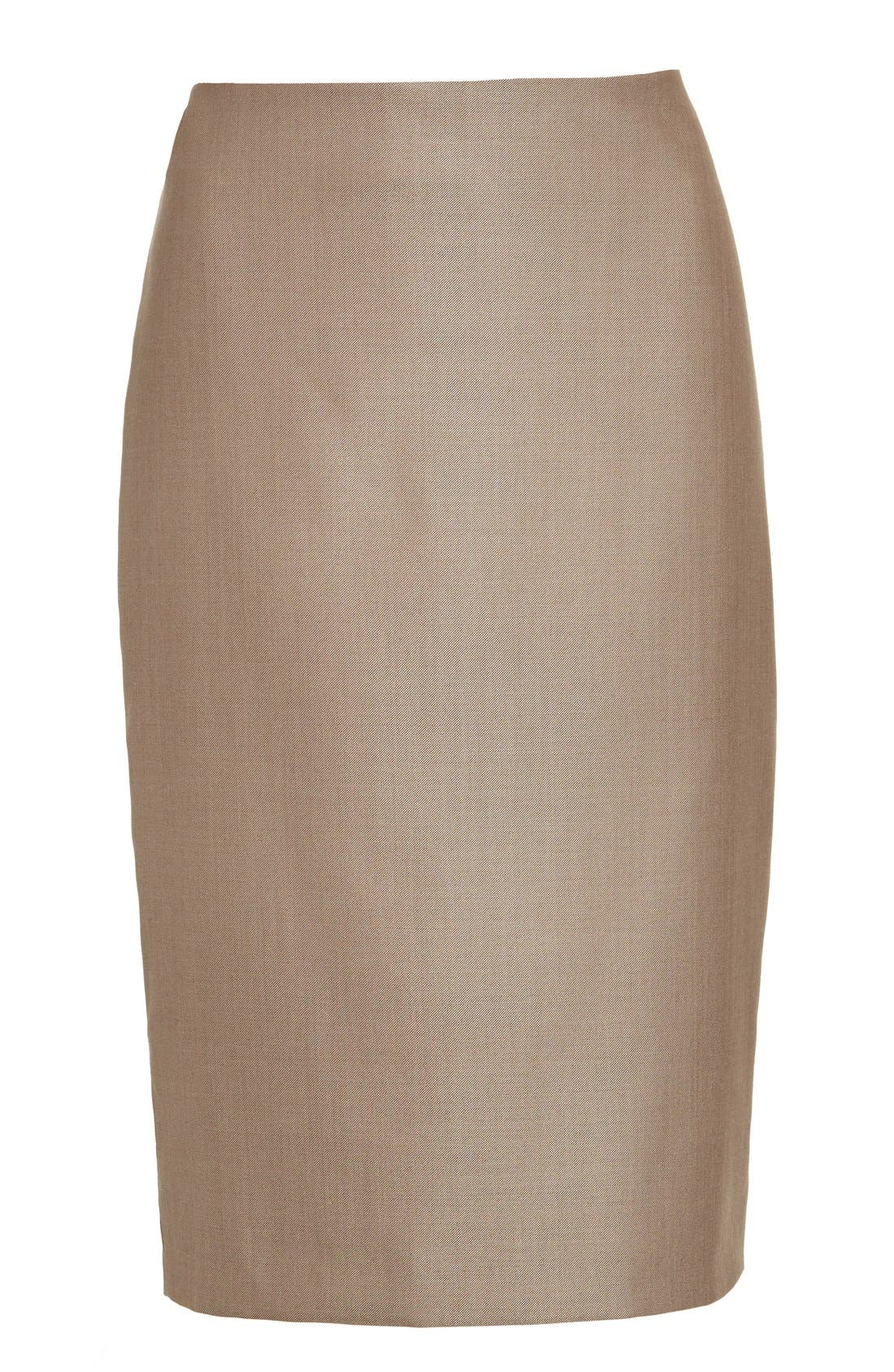 Alternate Image 4  - Max Mara Wool Blend Pencil Skirt