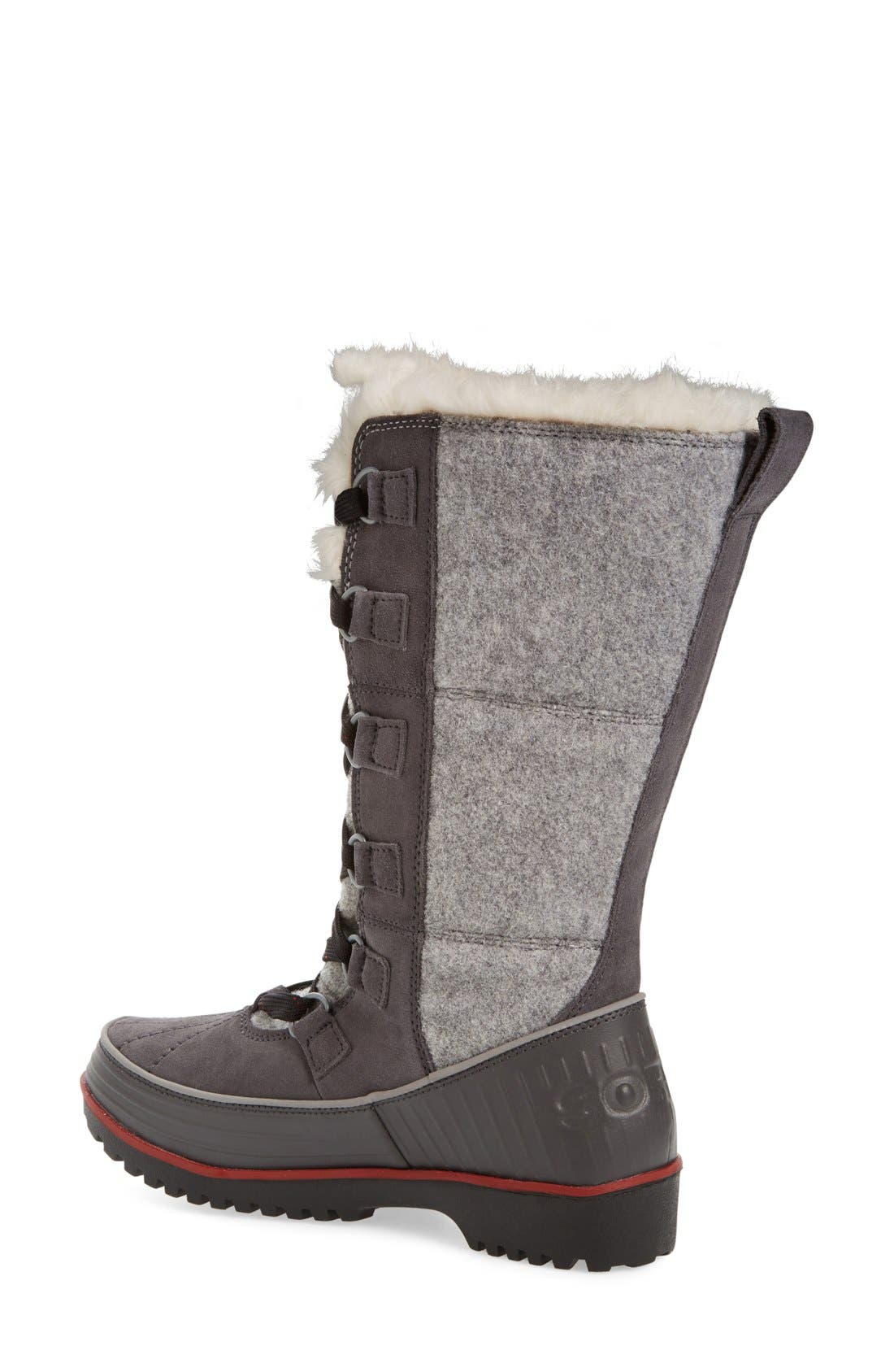 'Tivoli High II' Boot,                             Alternate thumbnail 2, color,                             Dark Grey