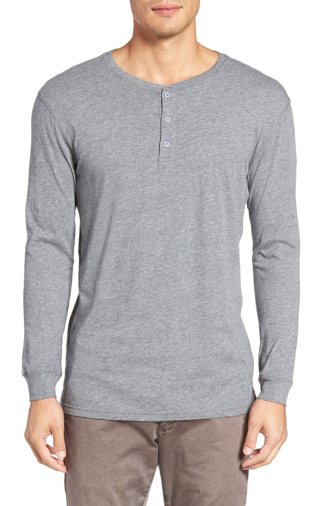 Alternate Image 1 Selected - Slate & Stone Button Henley