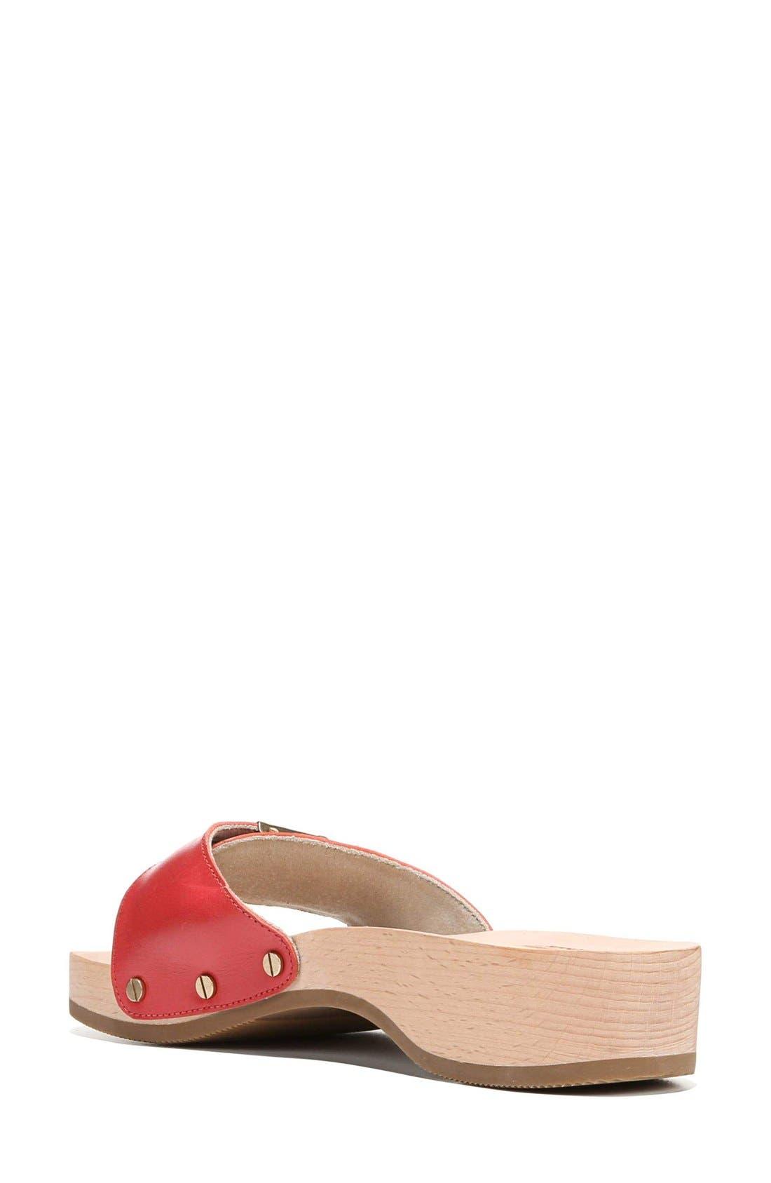 Original Collection Sandal,                             Alternate thumbnail 2, color,                             Red