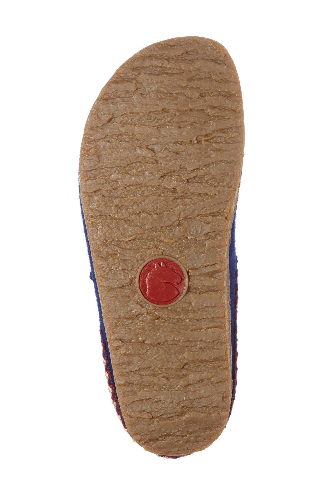 Alternate Image 4  - Haflinger Zigzag Slipper (Women)