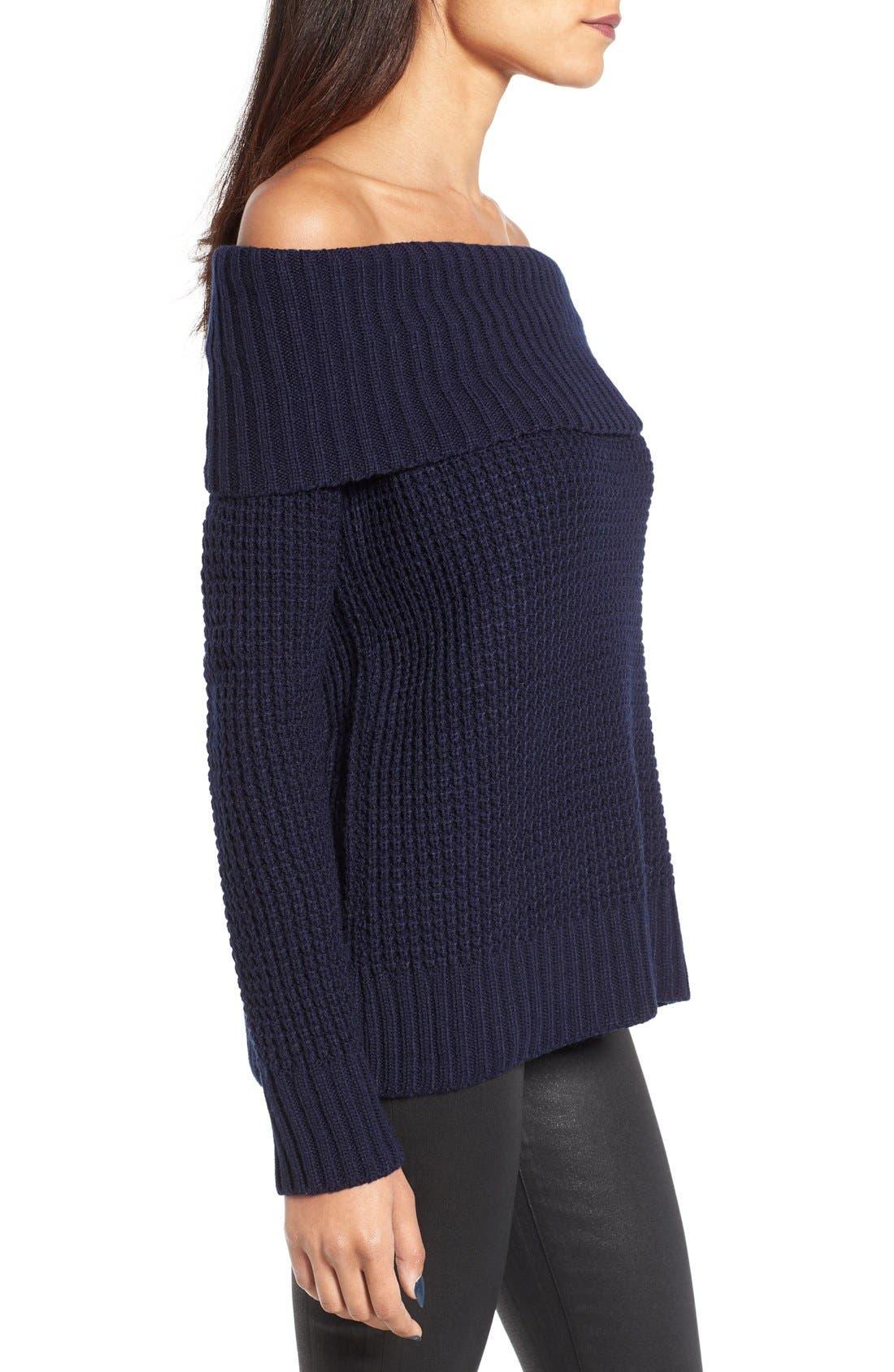 Alternate Image 3  - BP. Off the Shoulder Sweater