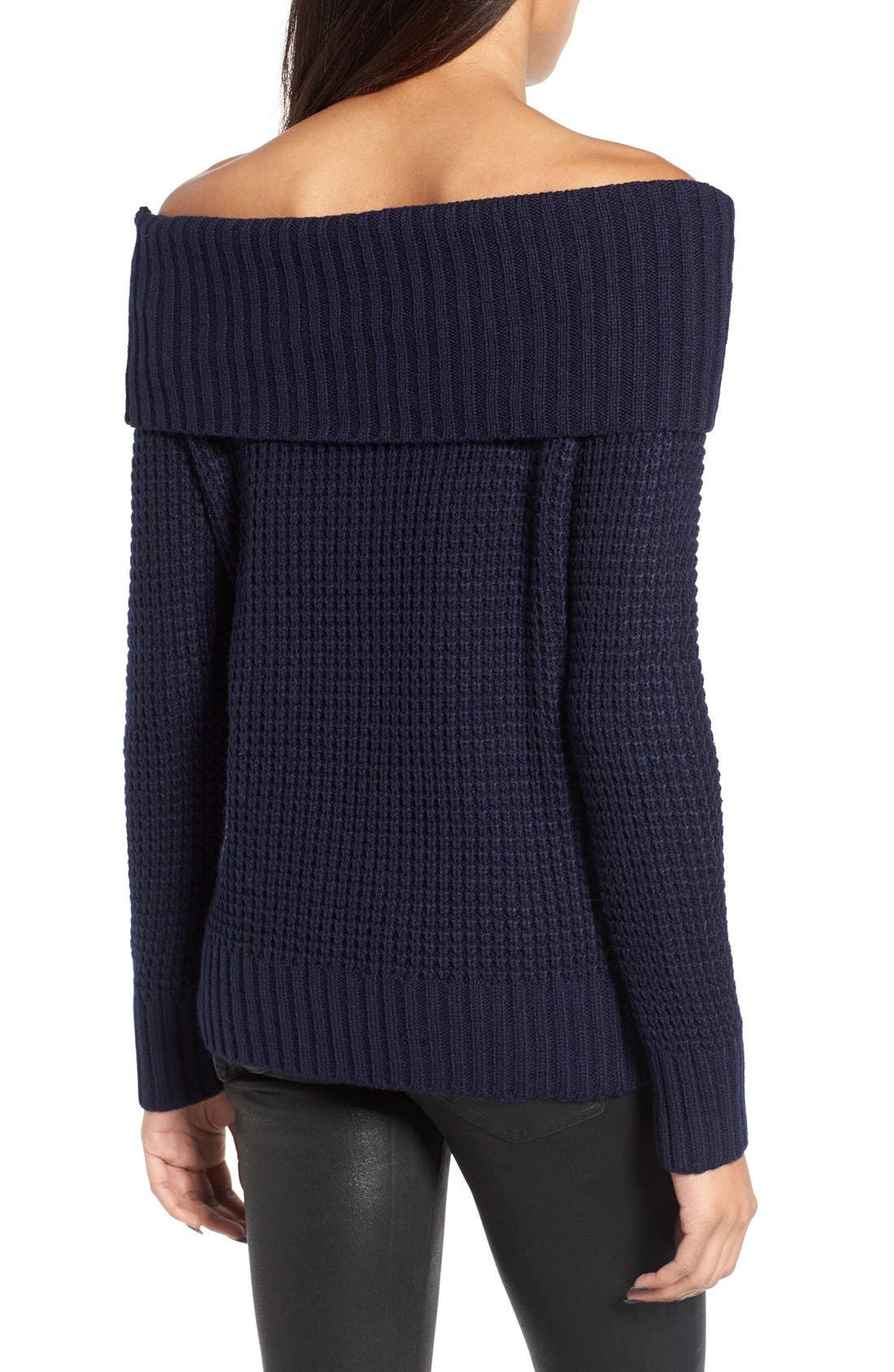 Alternate Image 2  - BP. Off the Shoulder Sweater