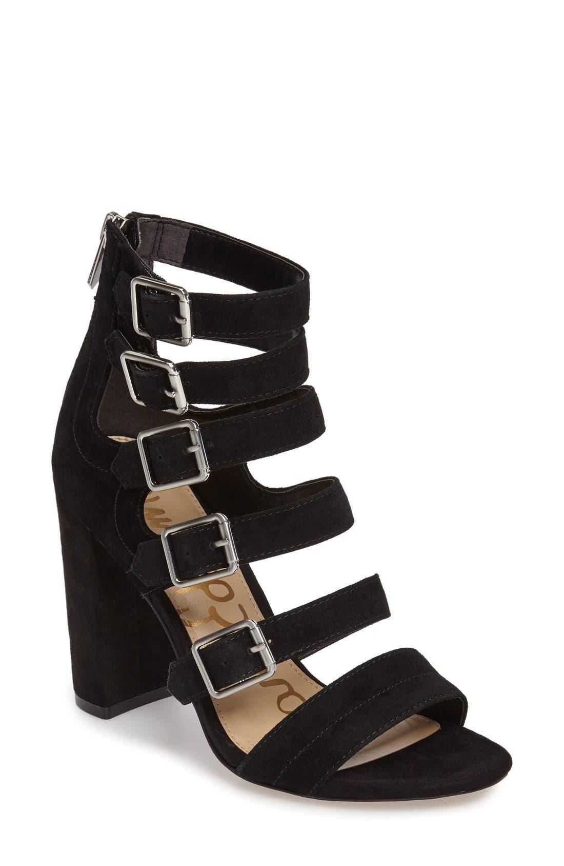 Alternate Image 1 Selected - Sam Edelman Yasmina Buckle Strap Gladiator Sandal (Women)