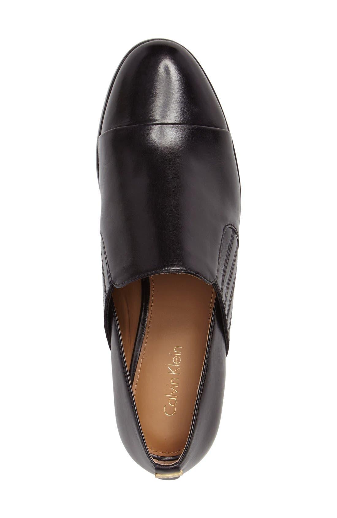 Alternate Image 3  - Calvin Klein Cella Slip-On Loafer (Women)