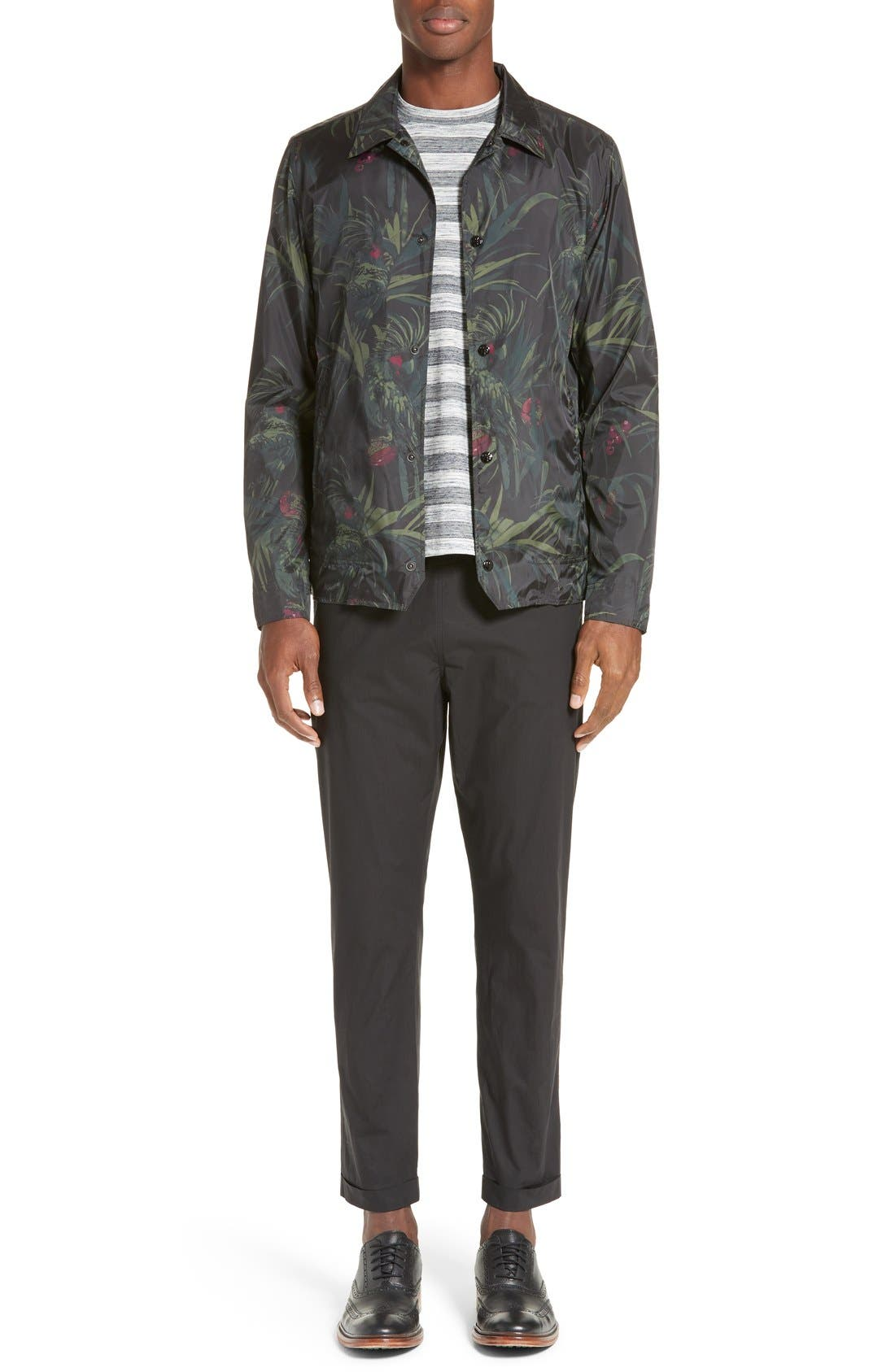 Alternate Image 6  - PS Paul Smith Dark Tropical Woven Work Jacket