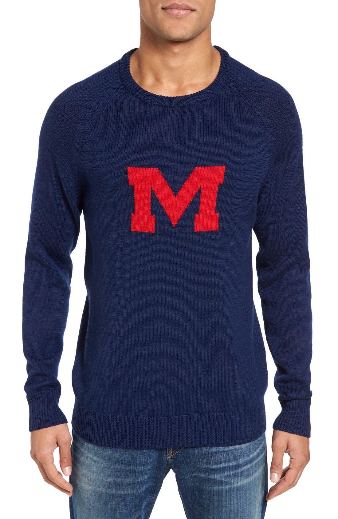 Main Image - Hillflint Ole Miss Heritage Sweater