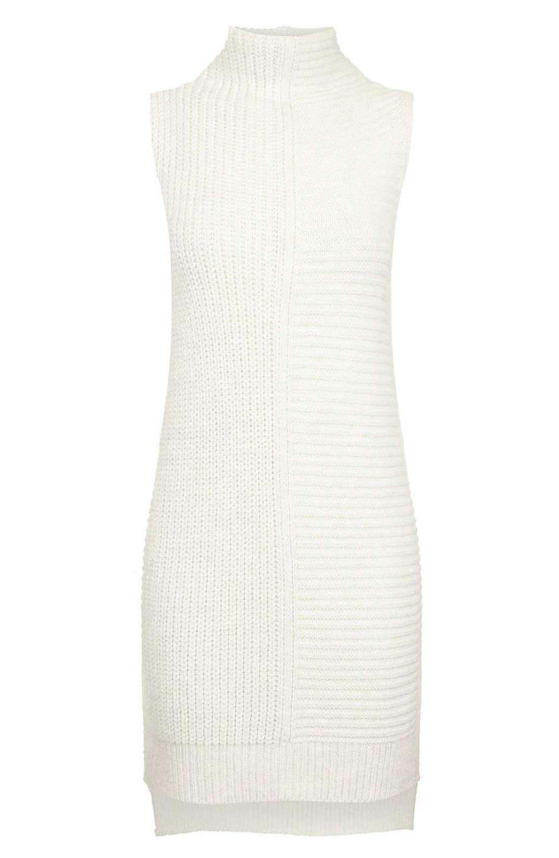 Alternate Image 4  - Topshop Sleeveless Turtleneck Sweater