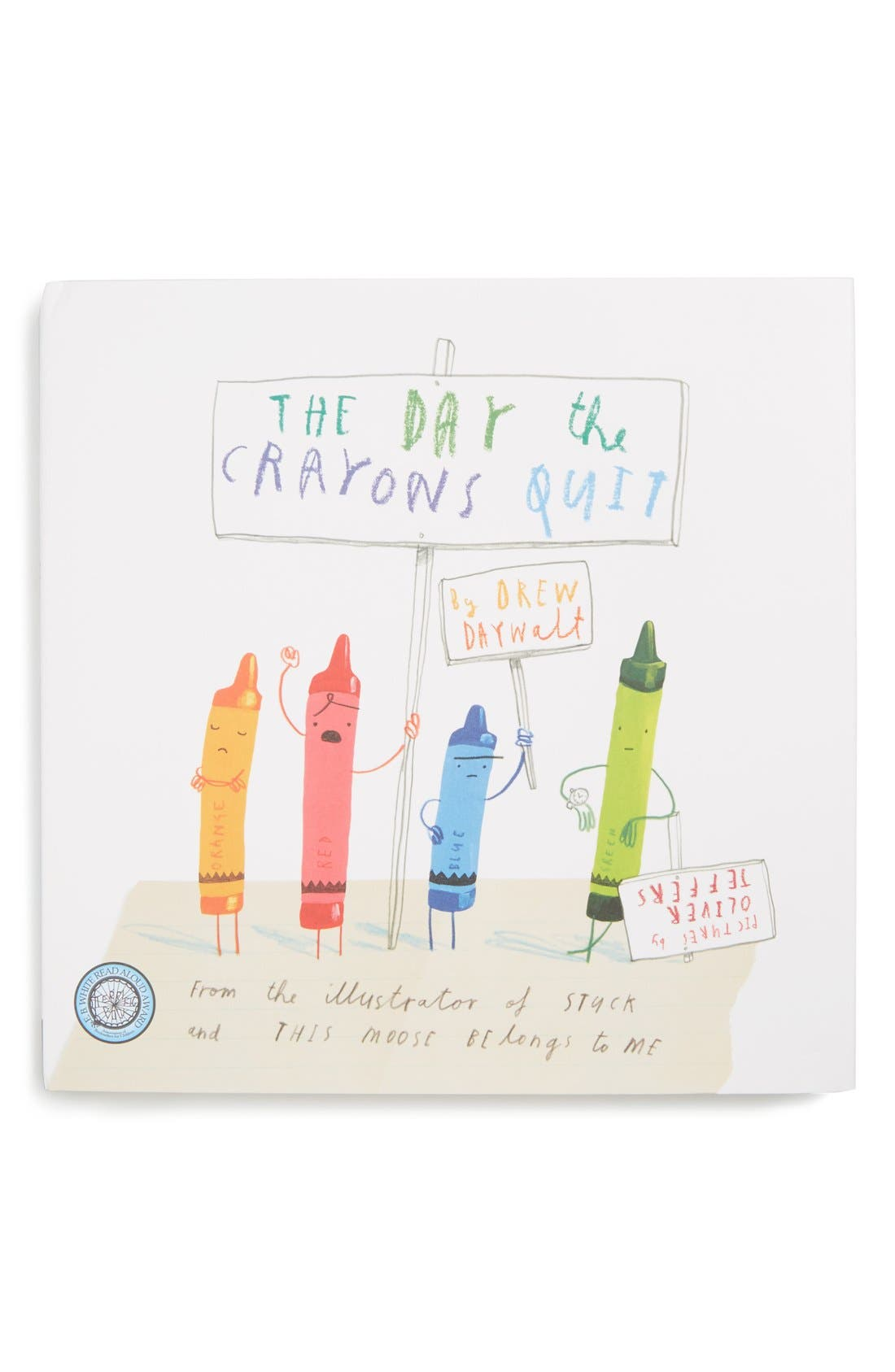 Alternate Image 1 Selected - The Day the Crayons Quit Book