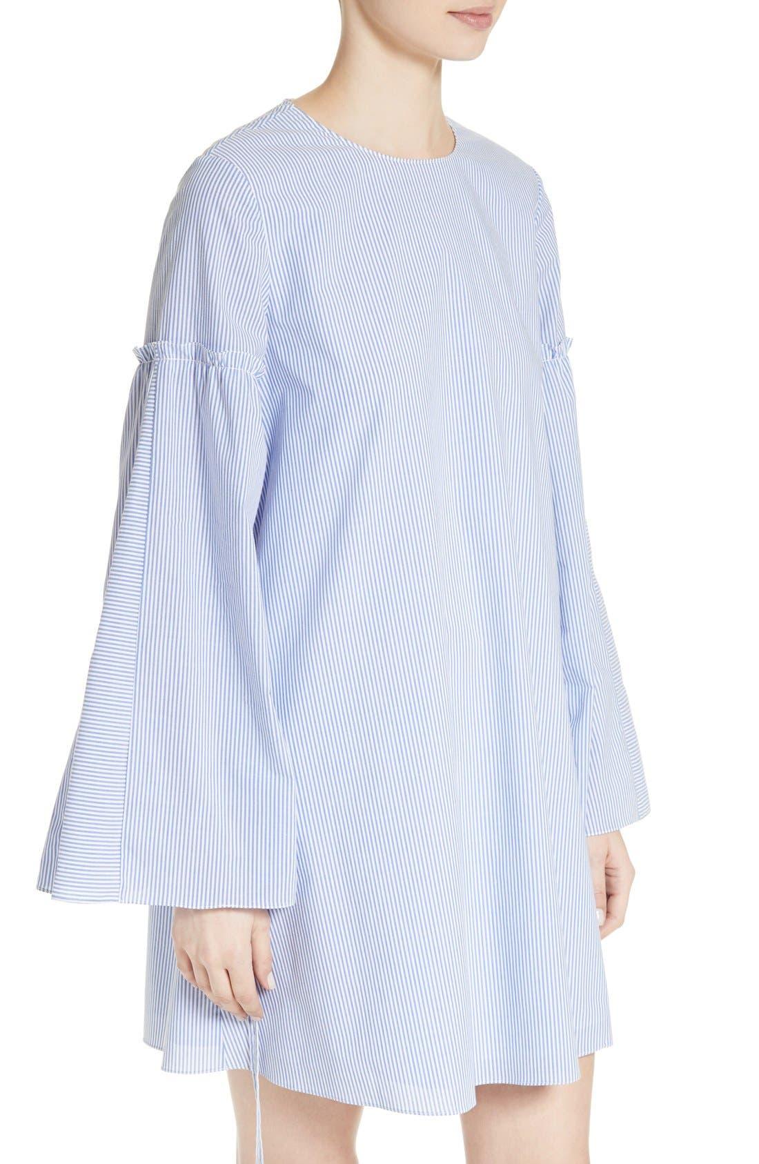 Alternate Image 4  - Tibi Elliot Stripe Trapeze Dress