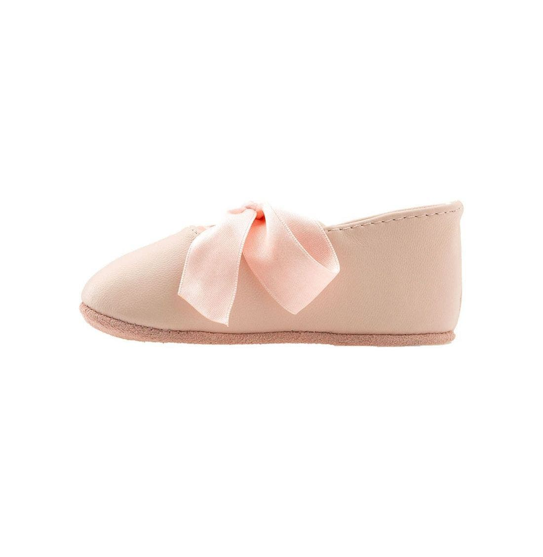 Layette 'Briley' Shoe,                             Alternate thumbnail 2, color,                             Pink Lambskin