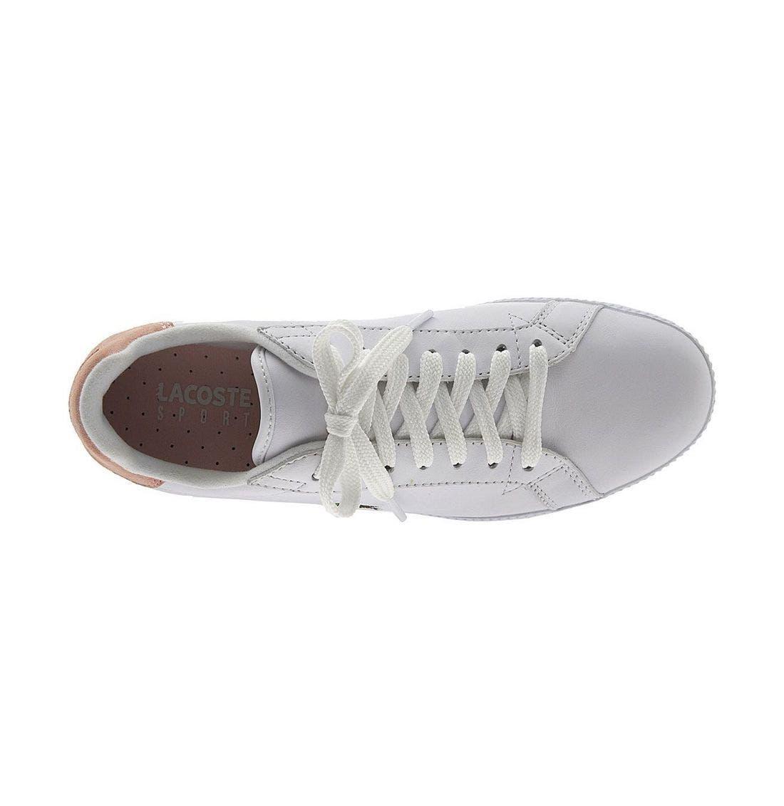 Alternate Image 3  - Lacoste 'Graduate 2' Sneaker (Women)