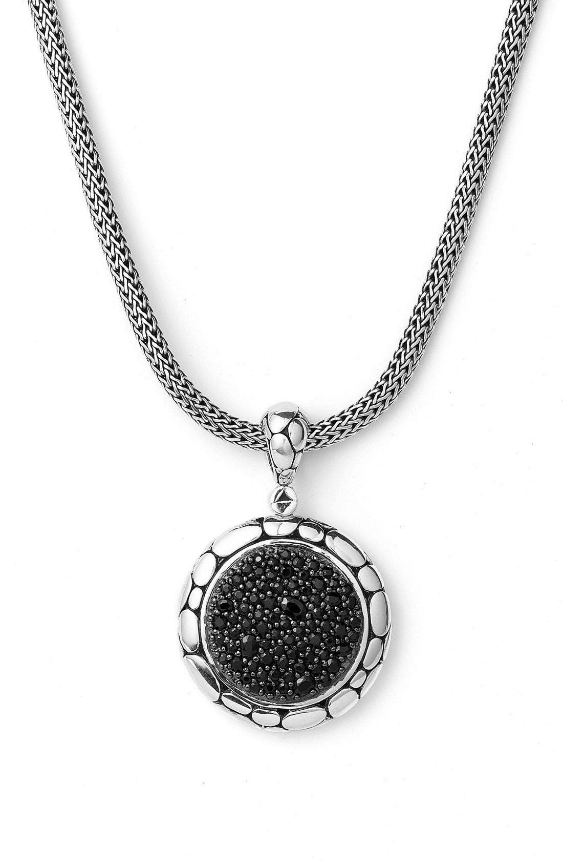 'Kali Pure Lavafire' Pendant,                             Alternate thumbnail 2, color,                             Silver