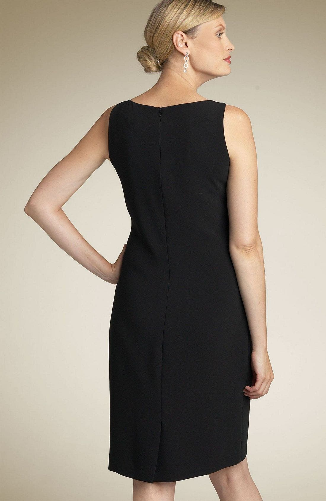 Alternate Image 2  - Louben Sheath Dress (Petite)