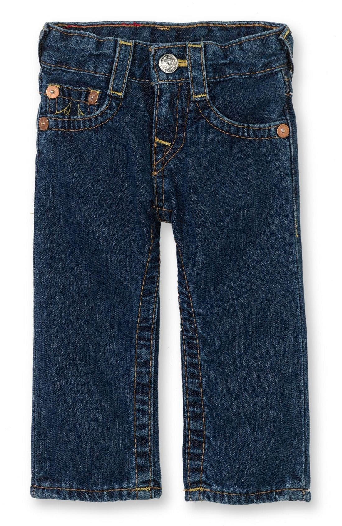 Alternate Image 2  - True Religion Brand Jeans 'Baby Billy' Jeans (Infant)