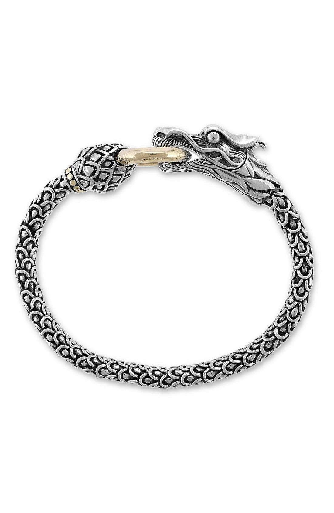 Alternate Image 1 Selected - John Hardy 'Naga' Dragon Bracelet