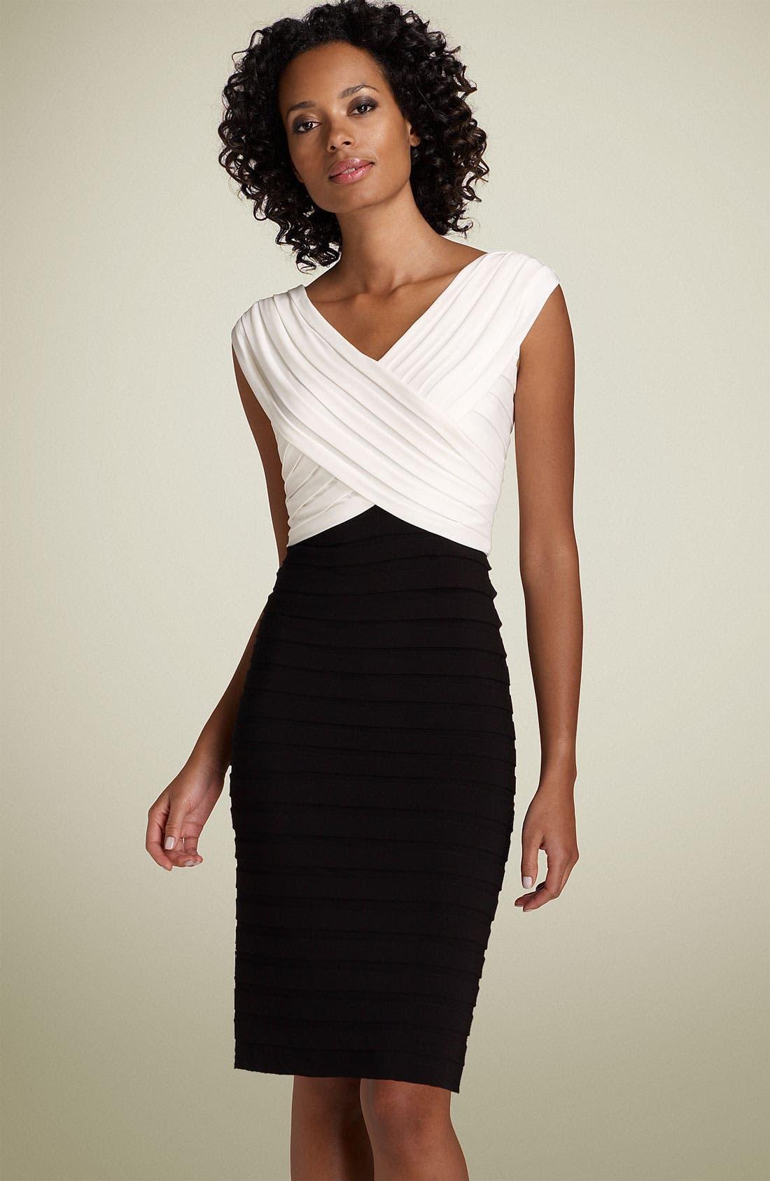 Main Image - Adrianna Papell Pleated Sheath Dress