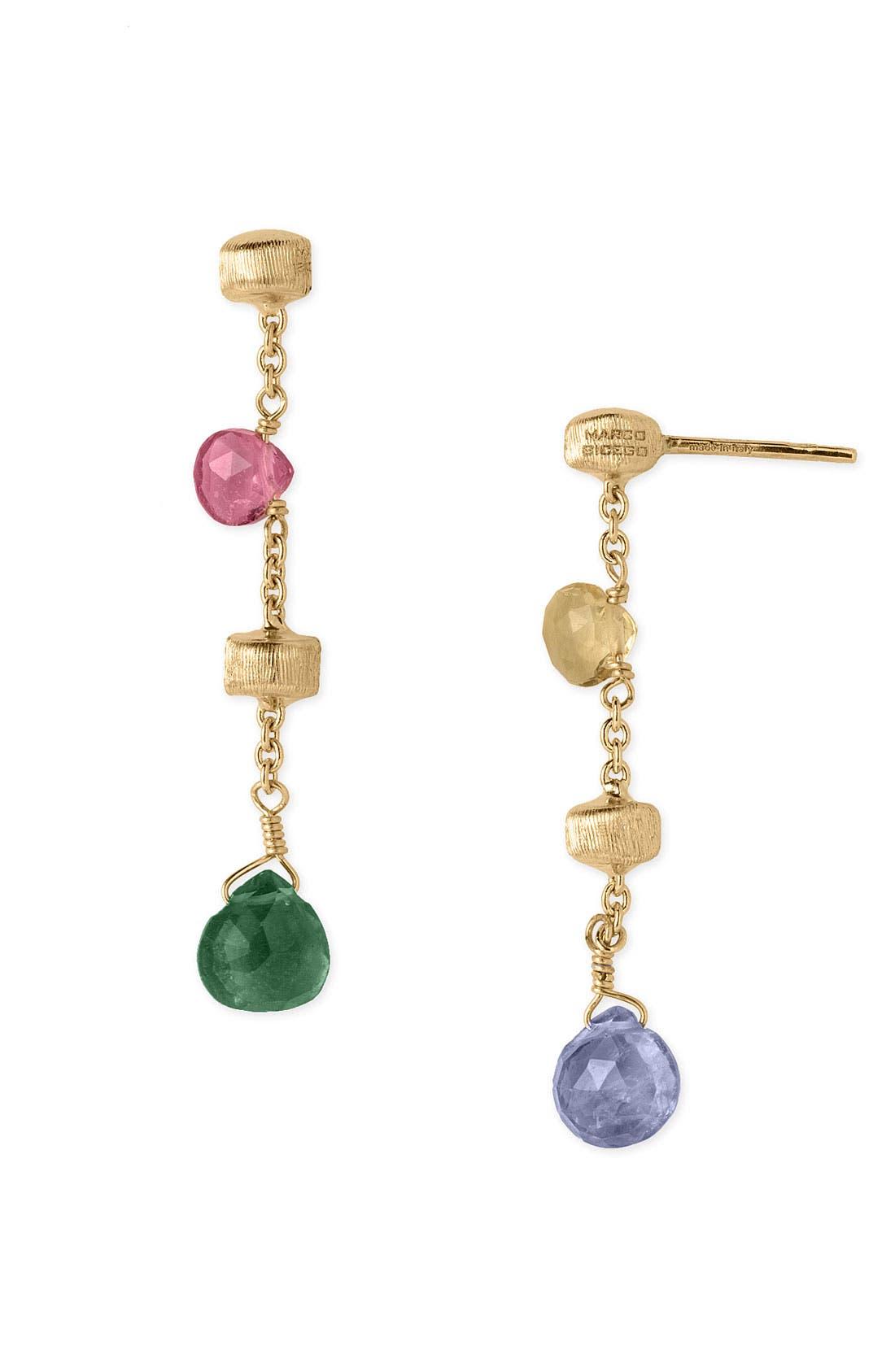'Paradise' Drop Earrings,                         Main,                         color, Multi