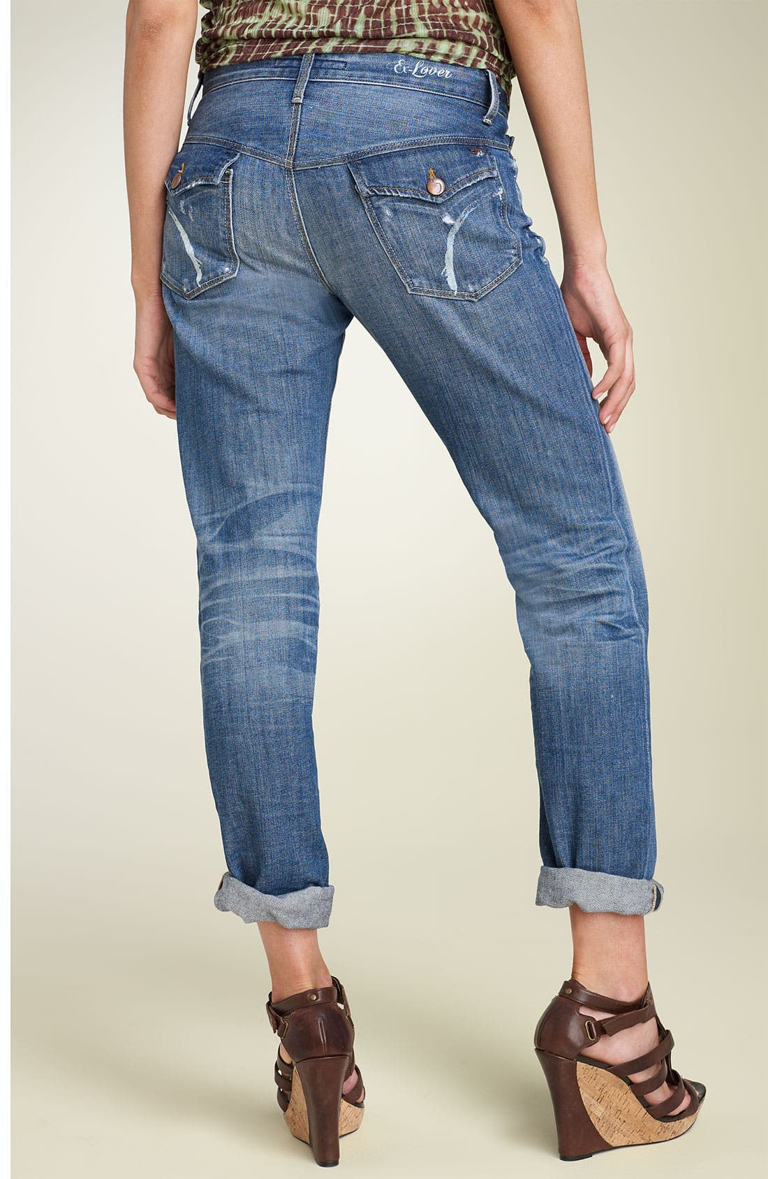 Main Image - Joe's Jeans 'Ex-Lover' Stretch Boyfriend Jeans (Shae Wash)