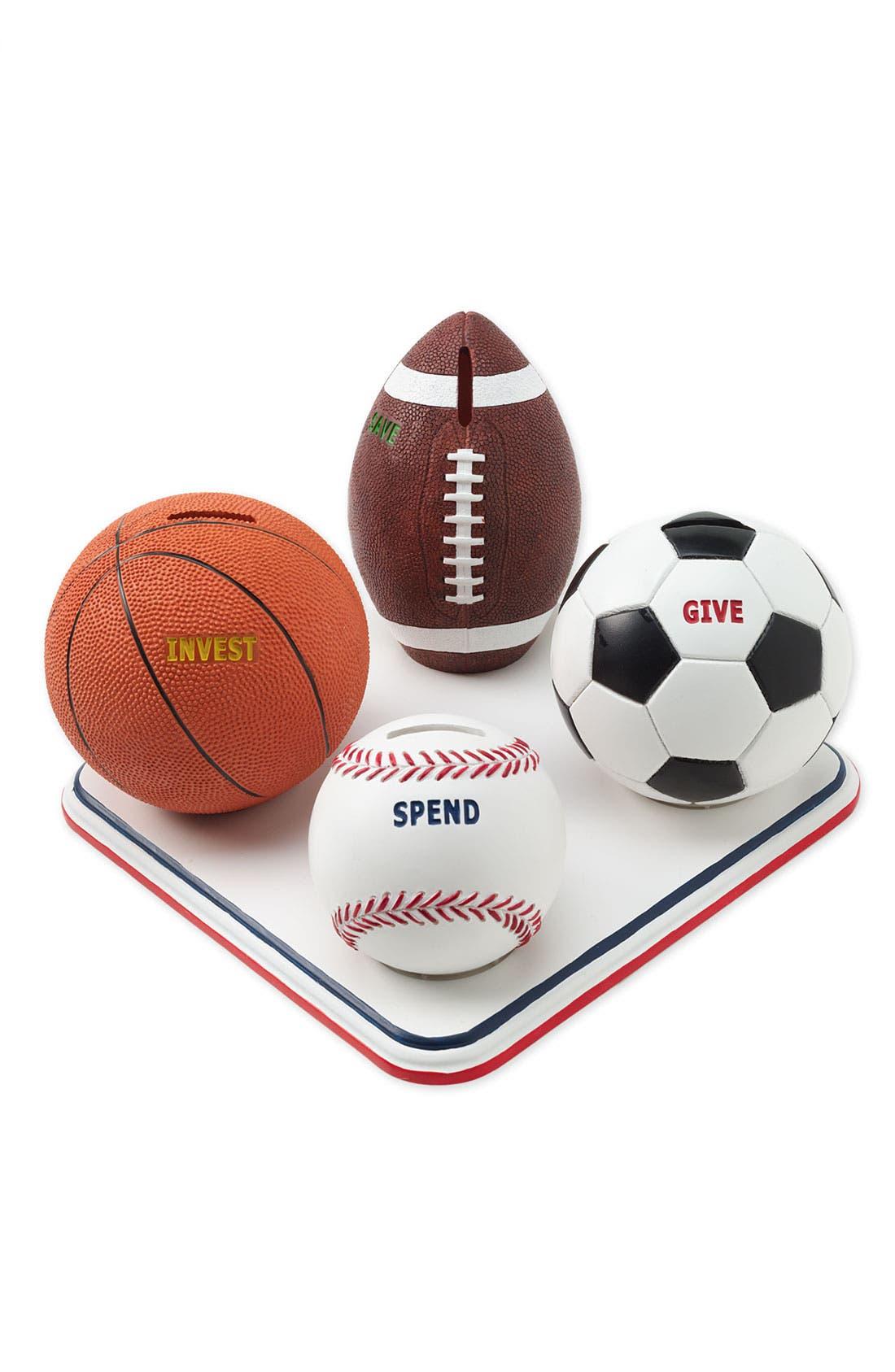 Sports Savings Bank,                         Main,                         color, Multi