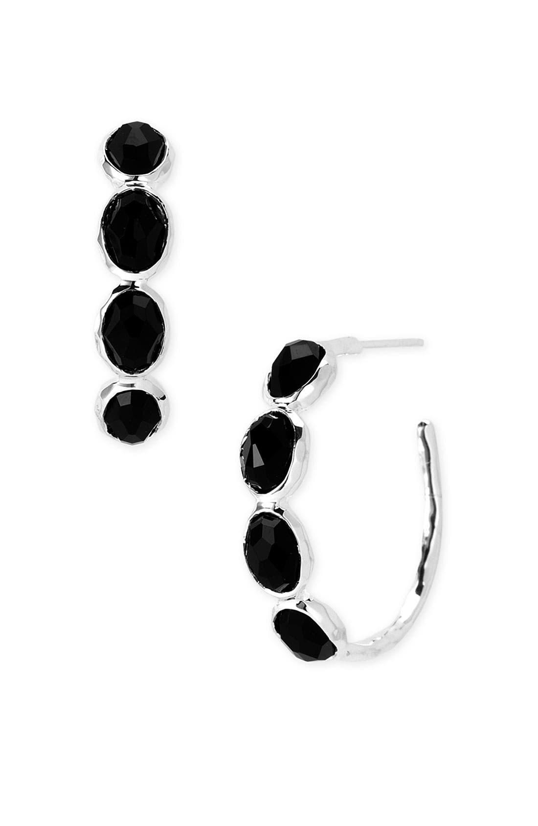 Alternate Image 1 Selected - Ippolita 'Rock Candy - Number 2' 4-Stone Hoop Earrings