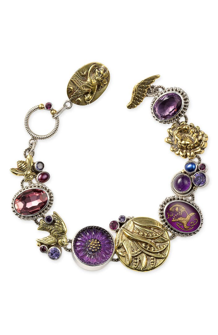 Mars And Valentine Violet African Violet Bracelet