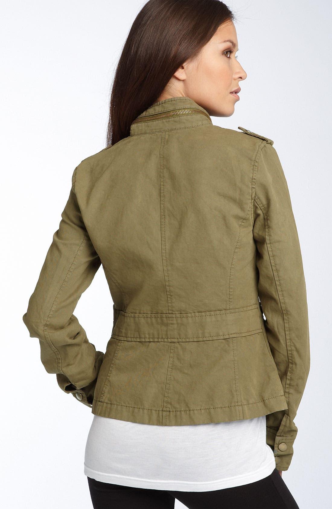 Alternate Image 2  - Trouvé Canvas Military Jacket