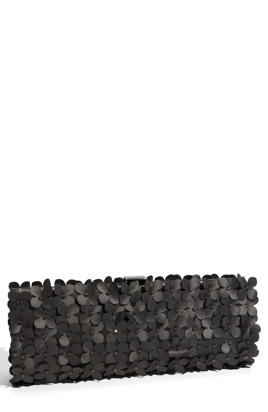 Alternate Image 1 Selected - Sondra Roberts Cutout Flower Frame Clutch