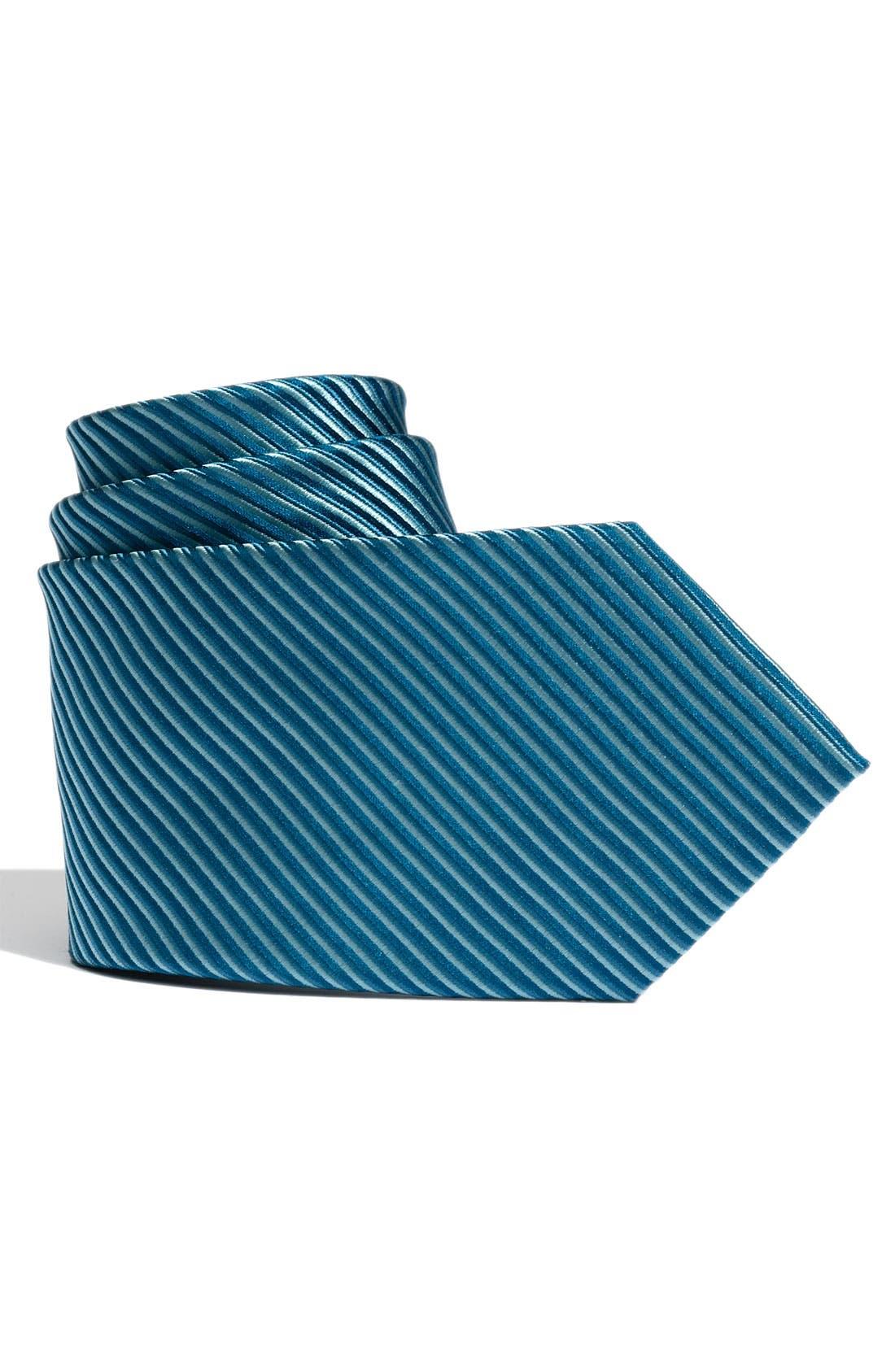 Alternate Image 1 Selected - Nordstrom Stripe Tie (Big Boys)