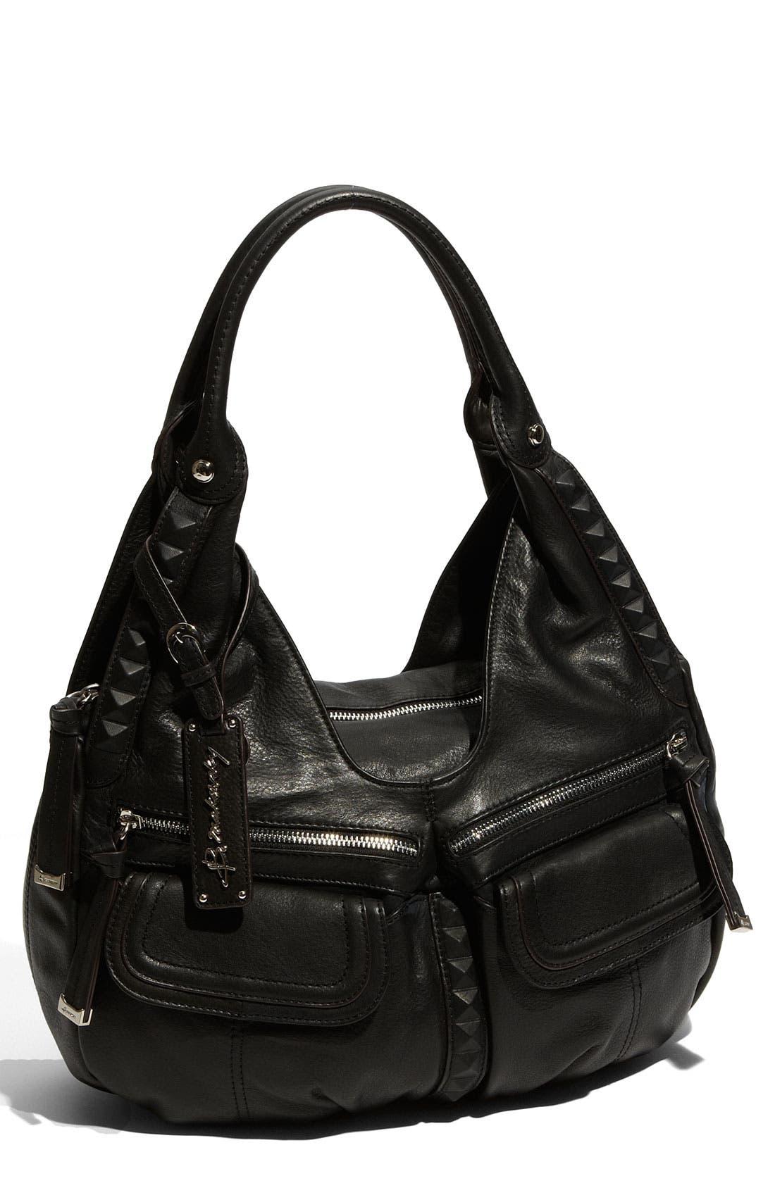 Alternate Image 1 Selected - B. Makowsky 'Stanton' Leather Satchel