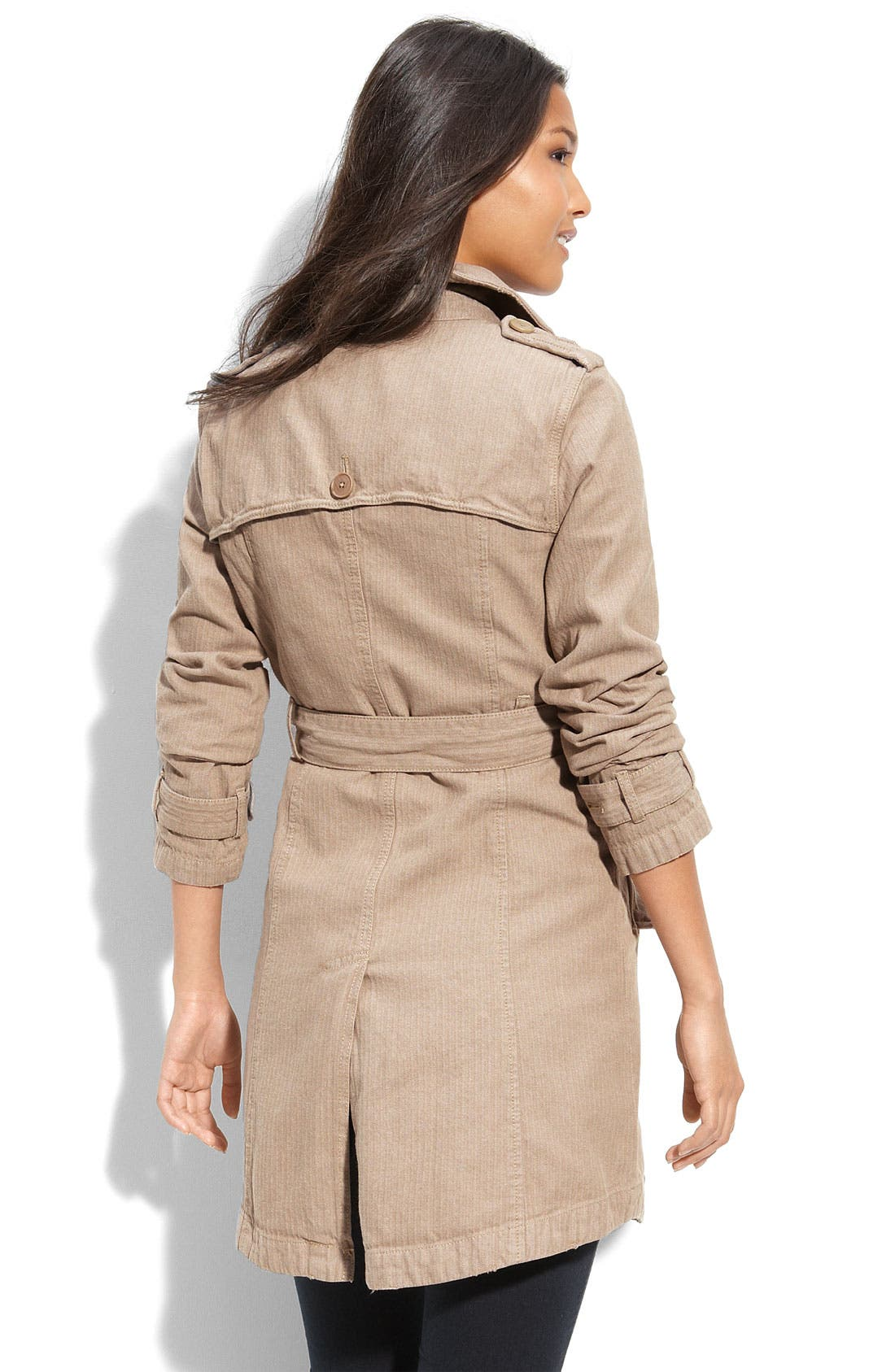 Alternate Image 2  - Free People Military Trench Coat