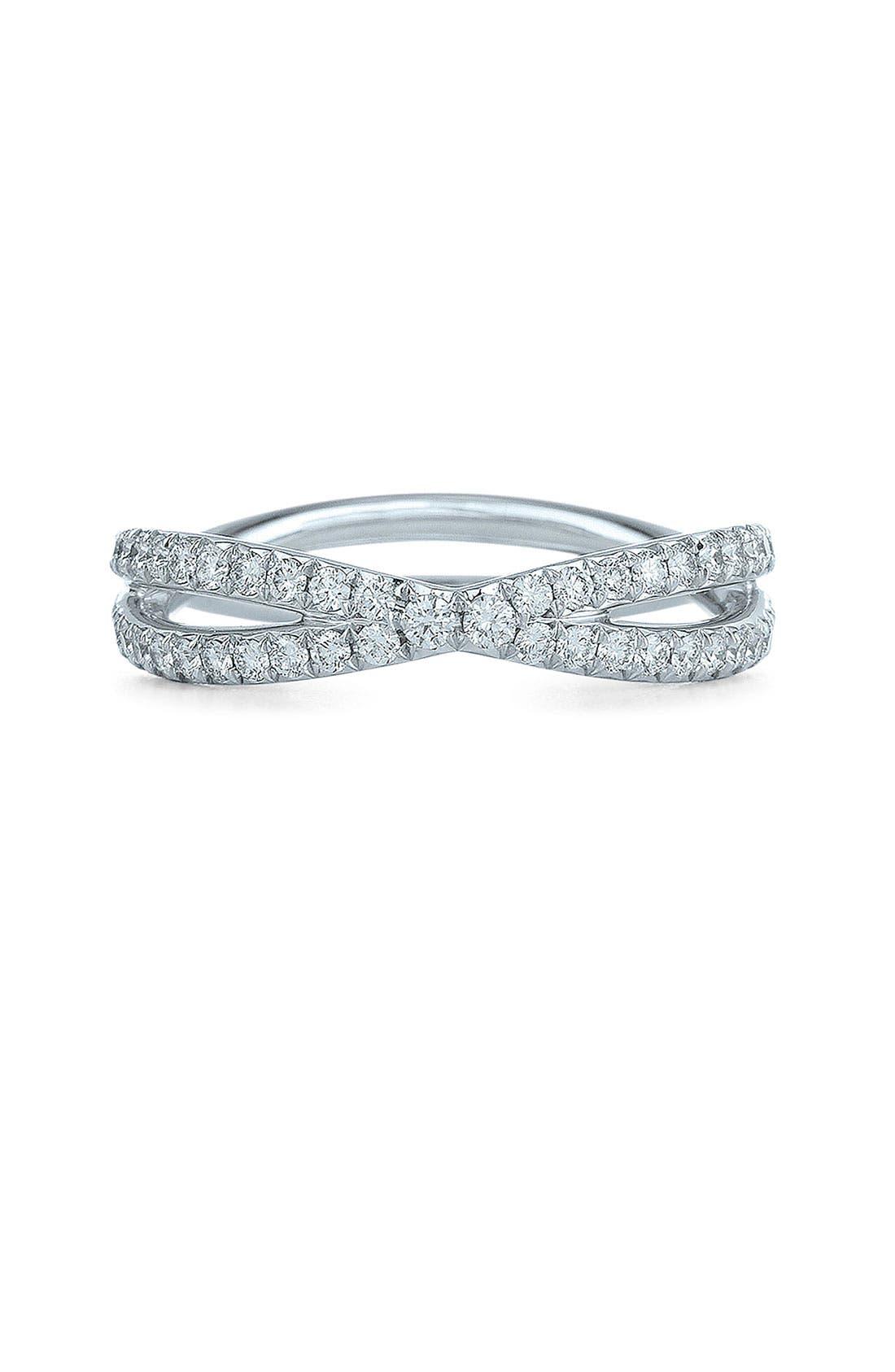 Main Image - Kwiat 'Fidelity' Diamond Crossover Ring