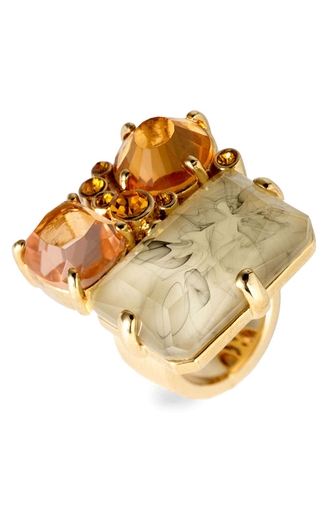 Alternate Image 1 Selected - MARC BY MARC JACOBS 'Industrial Facets' Cluster Ring