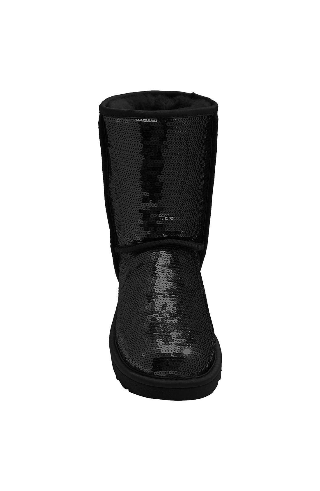 Alternate Image 3  - UGG® Classic Short with Sparkles Boot