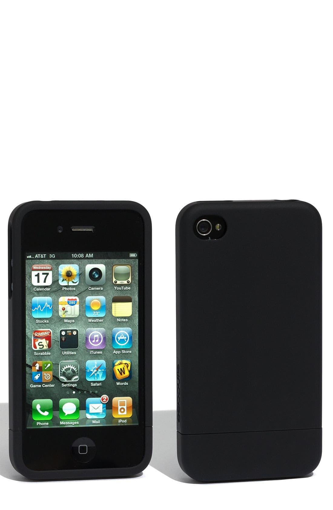 Alternate Image 1 Selected - Incase Designs iPhone 4 Soft Slider Case