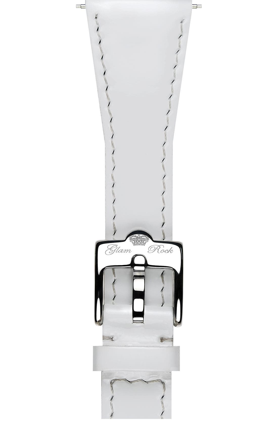 Alternate Image 1 Selected - Glam Rock 22mm Patent Leather Strap