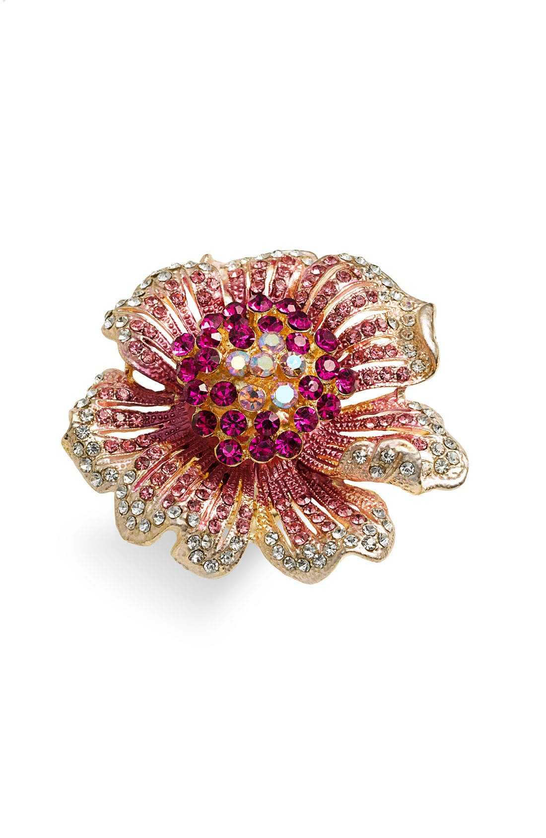 Main Image - Cara Accessories 'Critters' Large Flower Stretch Ring