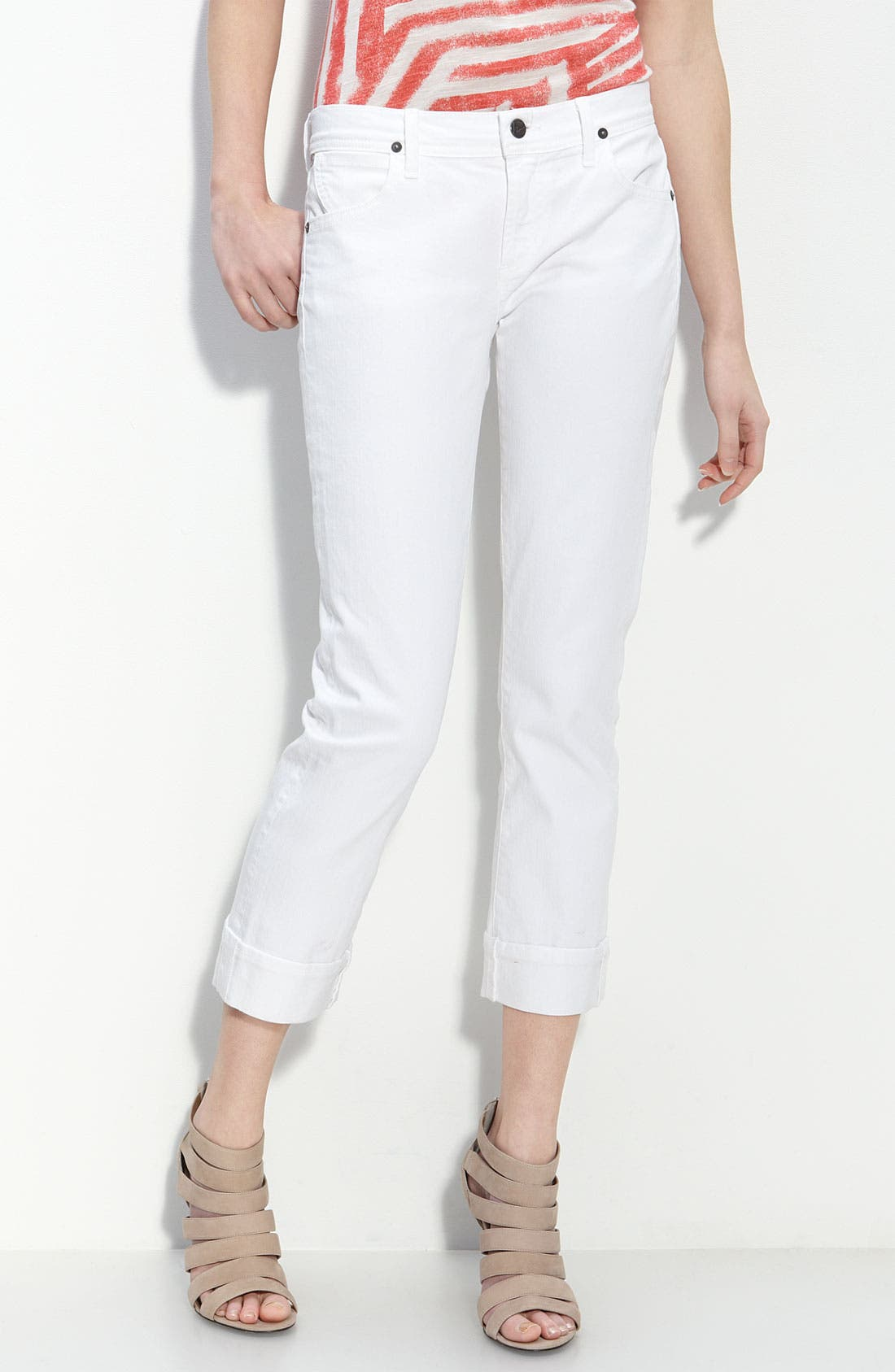 Main Image - Citizens of Humanity 'Dani' Stretch Denim Capri Pants (Santorini Wash)