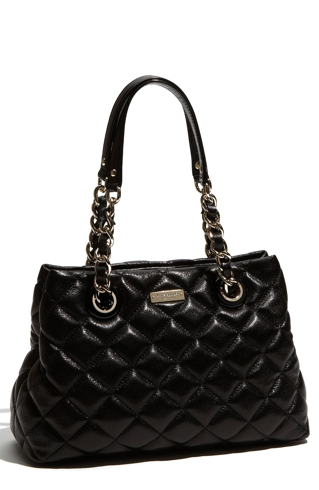 Main Image - kate spade new york 'gold coast - maryanne small' quilted leather shopper