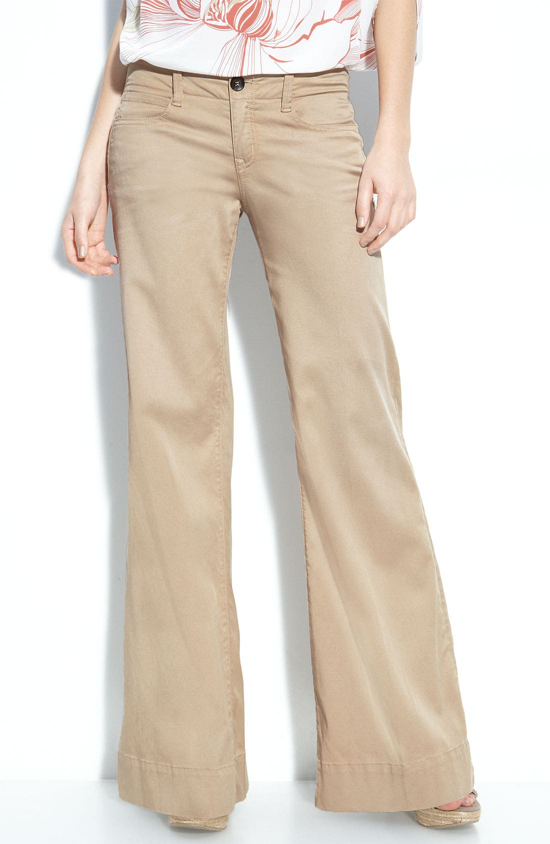 Alternate Image 1 Selected - Level 99 'Storm' Wide Leg Pants