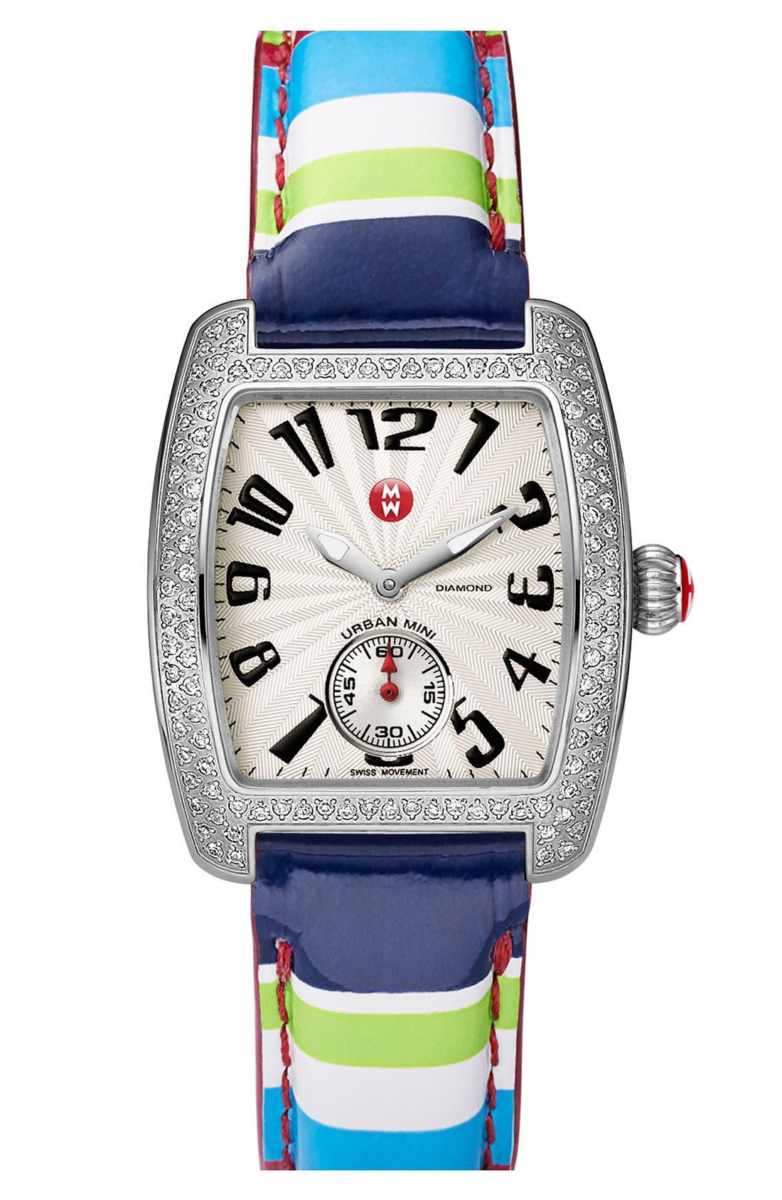 Alternate Image 3  - MICHELE 'Urban Mini Diamond' Watch Case