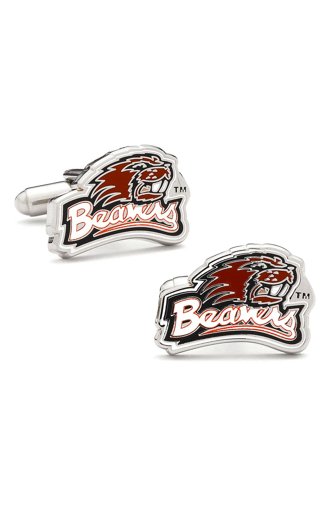 Alternate Image 1 Selected - Cufflinks, Inc. 'Oregon State Beavers' Cuff Links