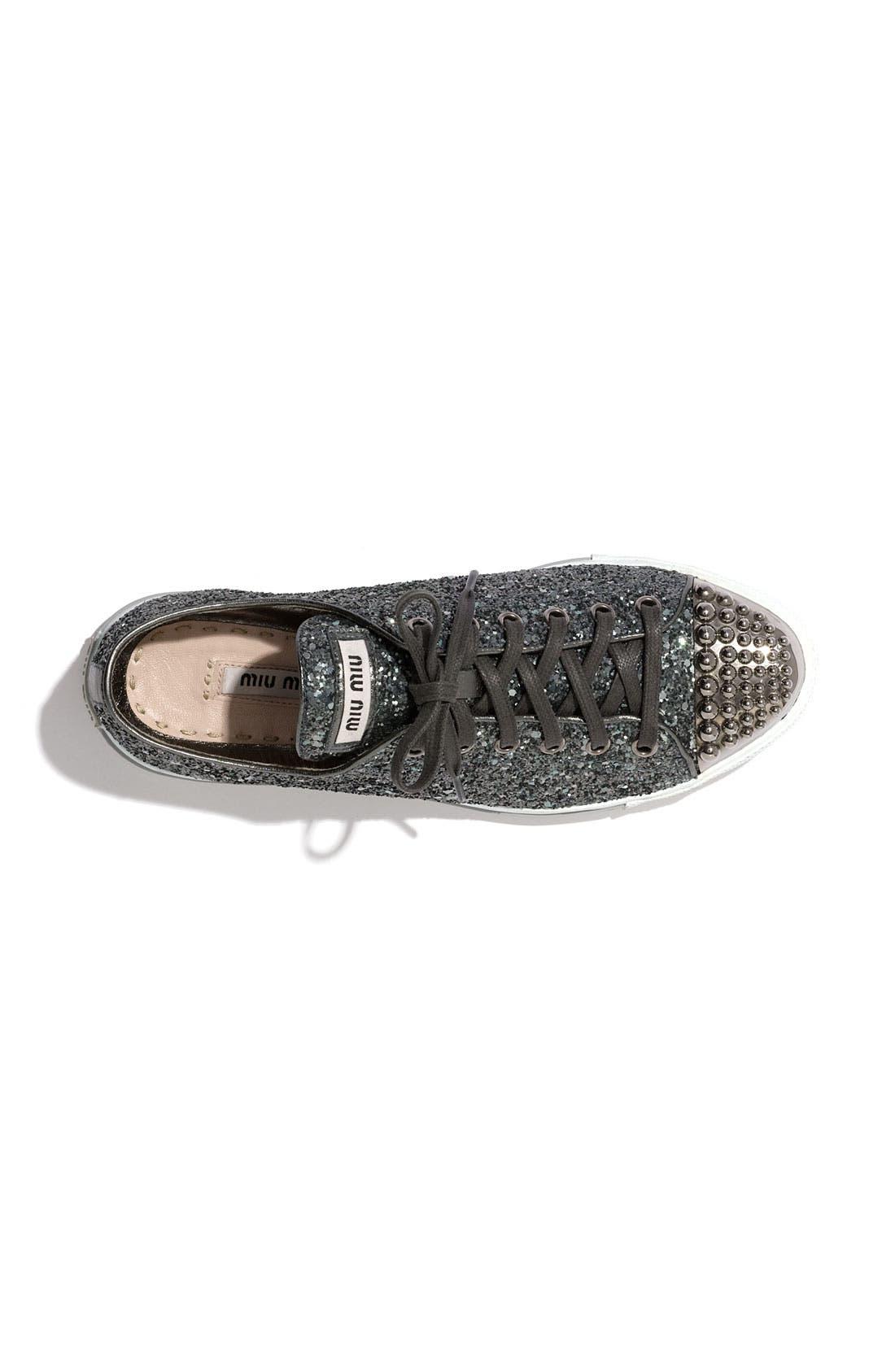 Alternate Image 2  - Miu Miu Glitter Sneaker