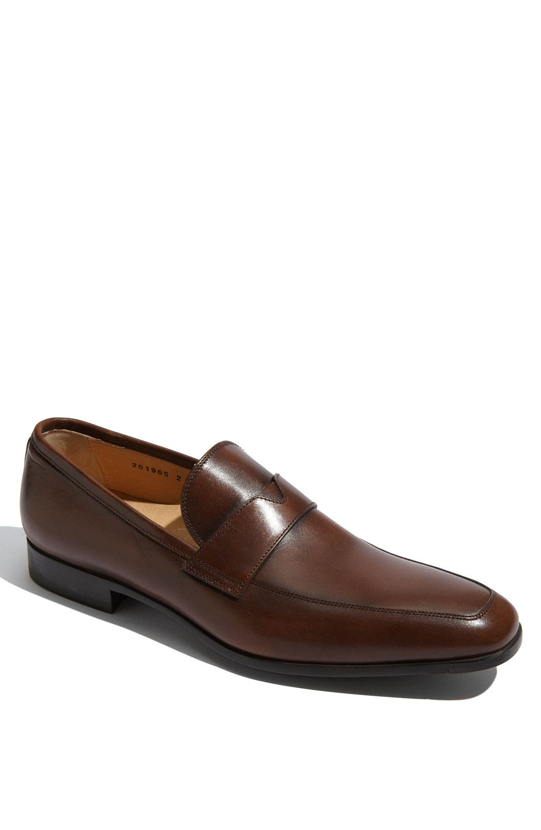 Alternate Image 1 Selected - Santoni 'Quinlan' Loafer